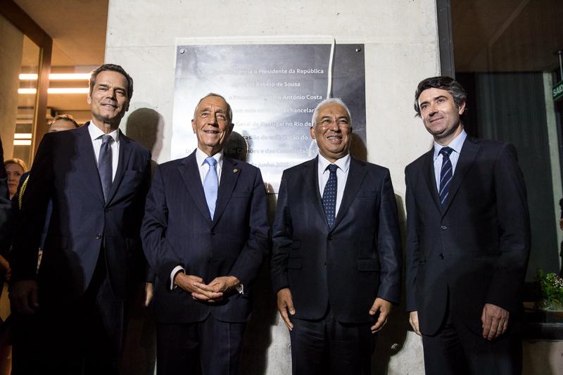 Inauguração Chancelaria do Consulado-geral de Portugal no Rio de Janeiro